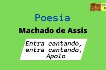 poesia Entra cantando, entra cantando, Apolo
