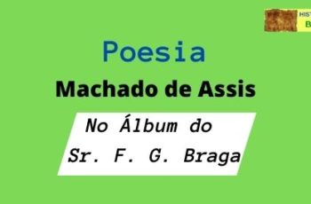 poesia No Álbum do Sr. F. G. Braga