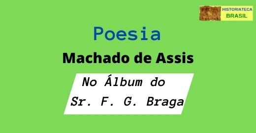 poesia No Álbum do Sr. F. G. Braga