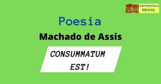 poesia CONSUMMATUM EST
