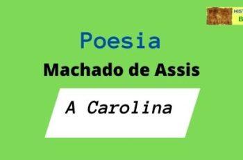 poesia A Carolina