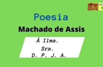poesia À Ilma. Sra. D. P. J. A.