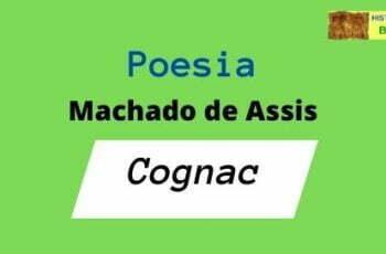 poesia de Machado de Assis Cognac