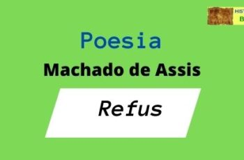poesia Refus Machado de Assis