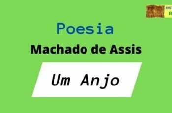 poesia um anjo Machado de Assis