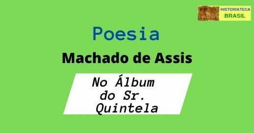 poesia No Álbum do Sr. Quintela